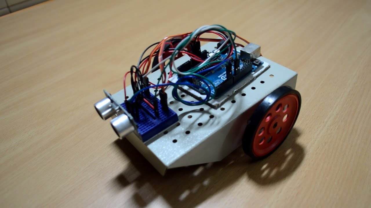 Ultrasonic controlled servo car with arduino youtube