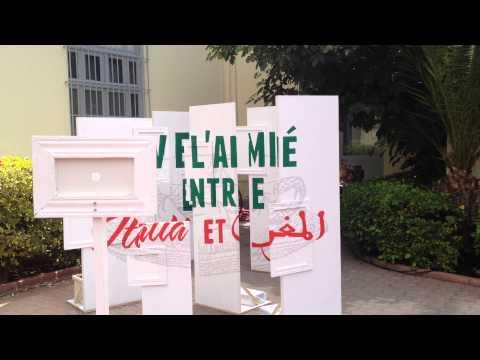 Vive l'amitié entre l'Italie et le Maroc 1/2