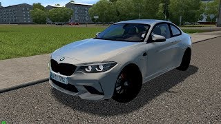 City Car Driving 1.5.7 | BMW M2 Compettion 2018 | Custom Sound | 60 FPS 1080p