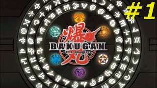 Bakugan Battle Brawlers Walkthrough Part 1 [HD]
