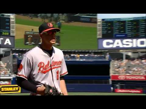 Manny Machado Makes Unreal Throw