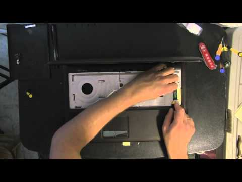 ASUS K50I laptop  take apart video. disassemble. how to open video disassembly