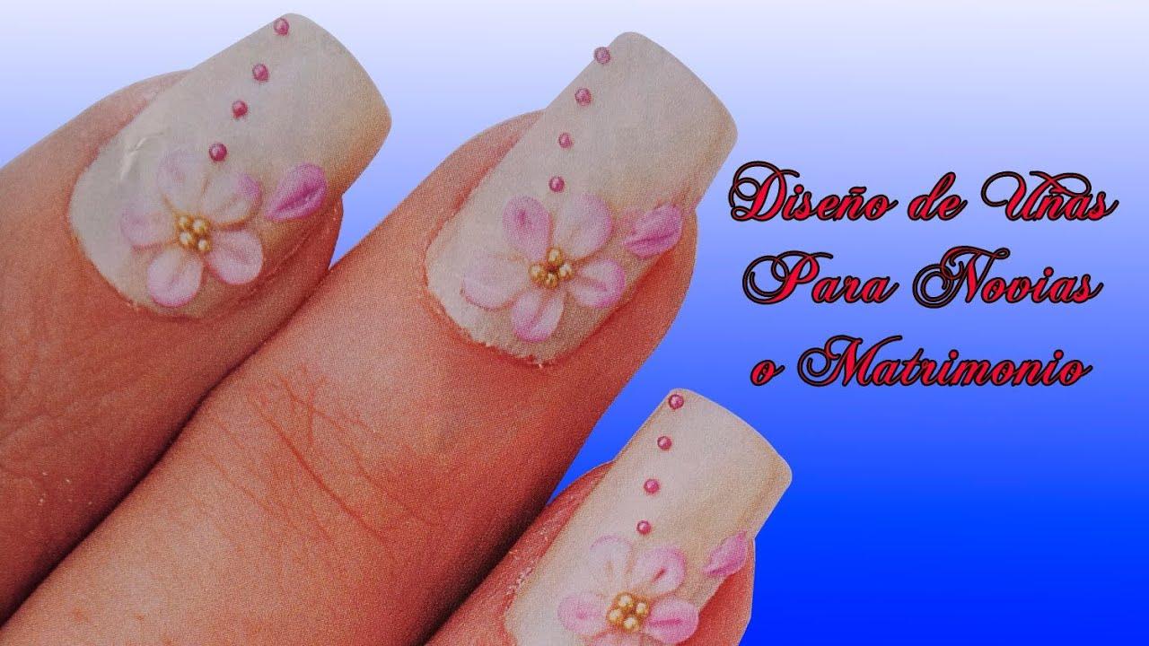 Fotos o imagenes de u as decoradas manicure dise o de - Decoracion de unas de gel para novias ...
