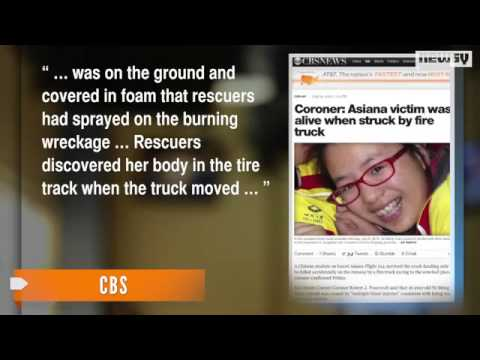 Rescue Vehicle Killed Asiana Plane Crash Victim