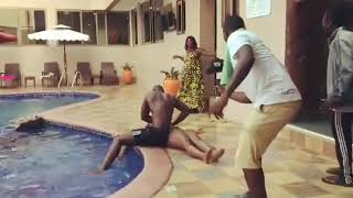 Efia Odo FAKED drowning just to make Ianwordi k!ss her