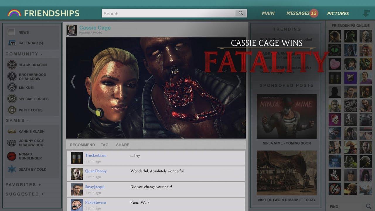 Cassie Cage Quotes Mortal Kombat x Cassie Cage