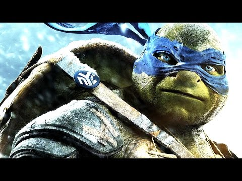 """Teenage Mutant Ninja Turtles"" Kritik & Trailer Deutsch German Review 