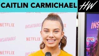 Insatiable's Caitlin Carmichael Gives Out Advice! | Hollywire