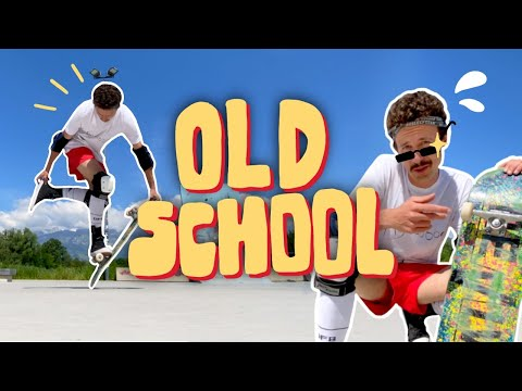Old School Skateboard Tricks - Jonny Giger
