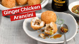 Kikkoman Ginger Chicken Arancini