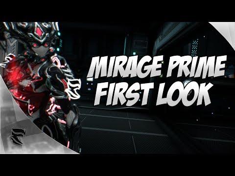 Warframe: Mirage Prime First Look