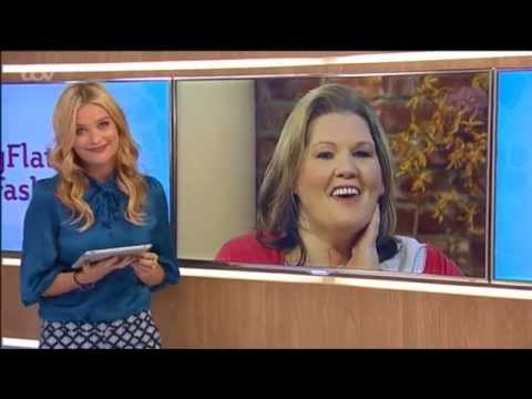 Laura Whitmore - This Morning (01 08 14) Satin Blouse Clip 1080p Upscaled