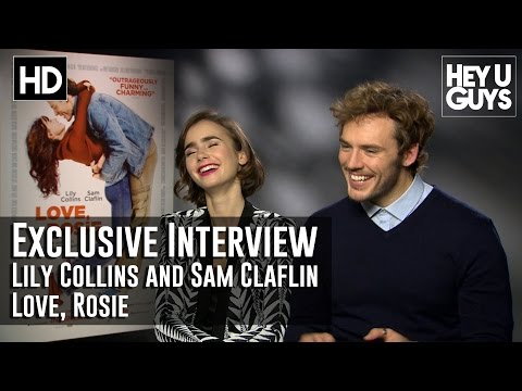Lily Collins and Sam Claflin Interview - Love, Rosie
