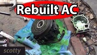 Why Not To Buy A Rebuilt AC Compressor