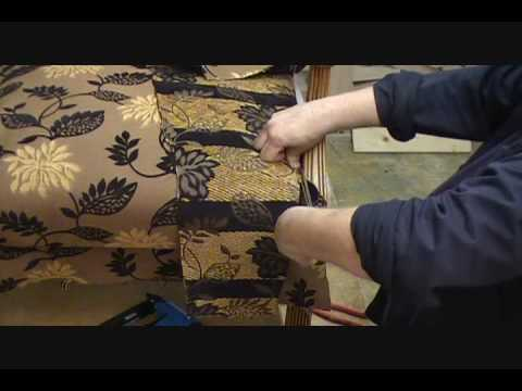 How to Upholster a Chair Seat (Part 3B of 13)