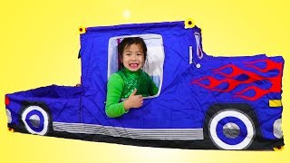 Jannie Build and Play with Pickup Truck Set