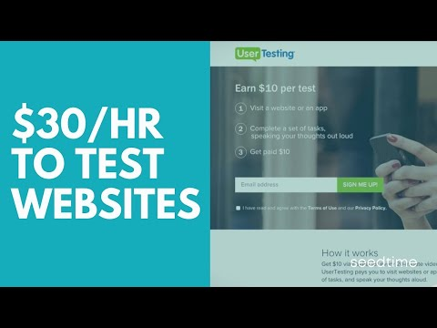 Earn $30/hr testing websites [UserTesting Review]