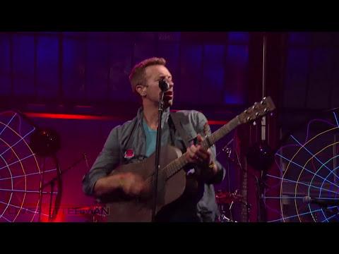 Coldplay - Mylo Xyloto / Hurts Like Heaven (Live @ Letterman)