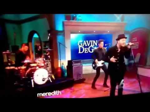 Gavin DeGraw Fire Live