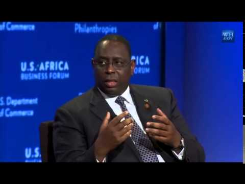 Heads of state remarks at the US Africa Business Forum