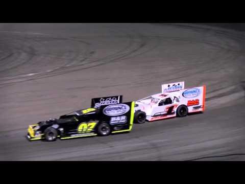 Outlaw Figure 8 Racing-Orange Show Speedway-4K