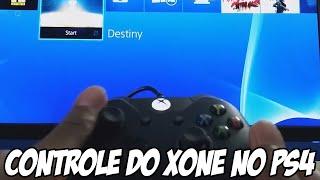 Jogando Playstation 4 com controle de XBOX ONE e controle de XONE pra PC