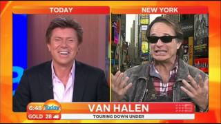 VAN HALEN (David Lee Roth) Interview