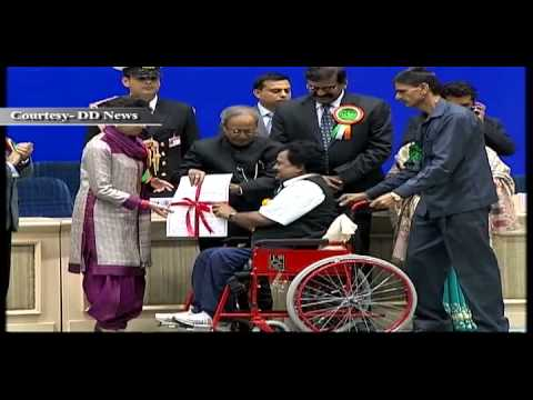 NATIONAL AWARDS FOR EMPOWERMENT OF PERSONS WITH DISABILITIES