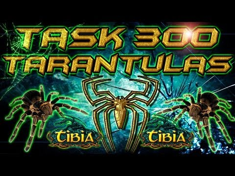 Task 300 tarantulas l Grizzly Adams l Tibia EN ESPAÑOL