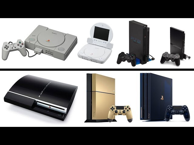 All PlayStation Console Generations Unboxing 1994-2019 PS1, PS2, PS3, PS4