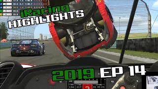 iRacing Twitch Highlights, 2019 Ep. 14 (Fails, Wins and Funny Moments)