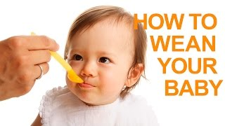 Baby Feeding Tips (Part 1): Weaning Your Baby