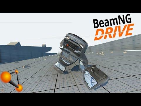 BeamNG Drive Vehicle Mod - Volkswagen Golf Mk4 (Crash Testing)