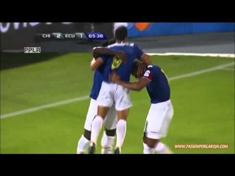 Corrida de Antonio Valencia ante Chile