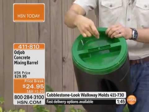 Odjob Concrete Mixing Barrel