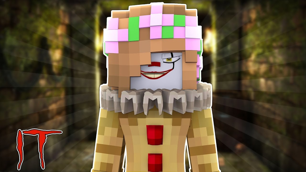LITTLE KELLY BECOMES IT THE CLOWN | Minecraft Little Kelly