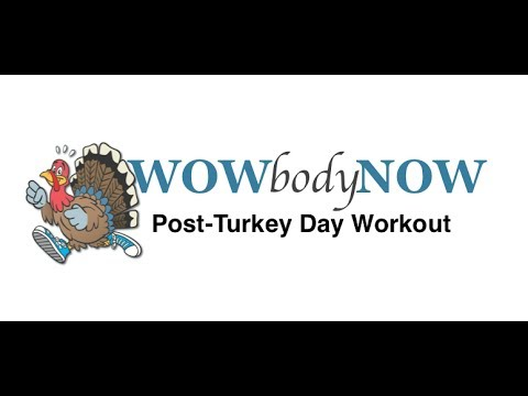 Post-Turkey Day Workout (Prenatal Modifications)