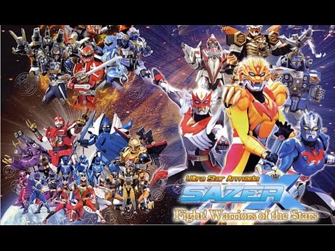 Sazer-x The Movie video