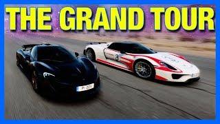The Grand Tour Game Gameplay : McLaren P1 vs LaFerrari vs Porsche 918!!