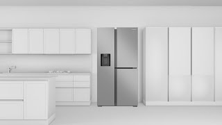 01. How to install a Samsung side by side refrigerator