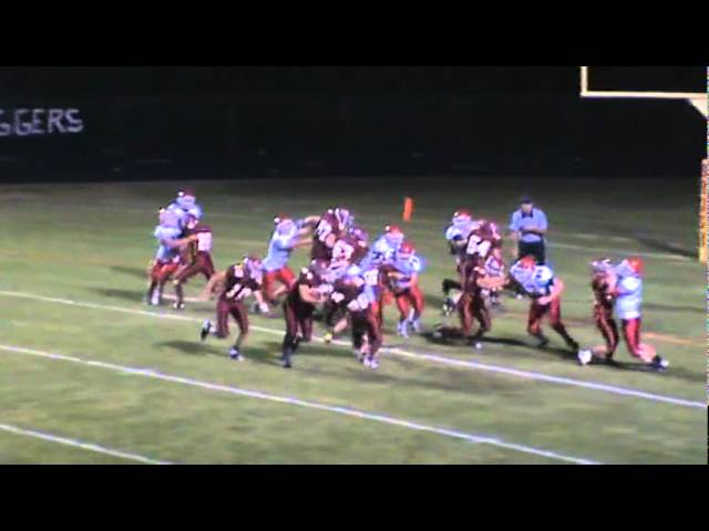 10-14-11 - Connor Weisser gives Brush their first lead from 4 yards away (Brush 41, Eaton 35 in OT)