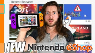 10 NEW & BEST Nintendo Switch eShop Games Worth Buying!