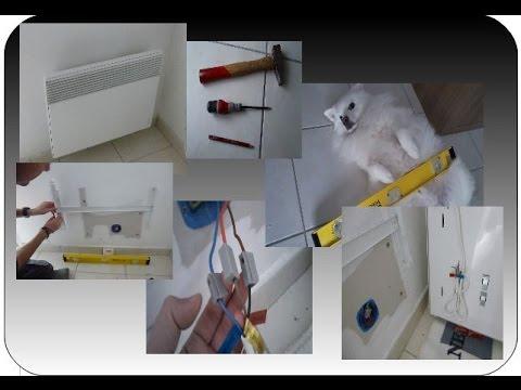 comment remplacer un radiateur lectrique youtube. Black Bedroom Furniture Sets. Home Design Ideas