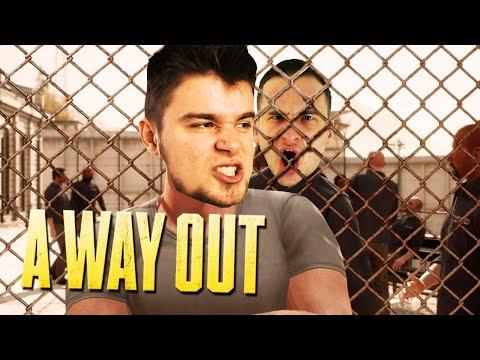 TRAFILIŚMY DO WIĘZIENIA W GDAŃSKU! | A Way Out [#1] (With: Dobrodziej)