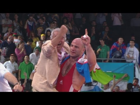 Wrestling Men's Freestyle 120 kg Finals - Uzbekistan v Georgia Replay - London 2012 Olympic Games