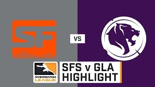 HIGHLIGHT San Francisco Shock vs. LA Gladiators   Stage 1   Week 1   Day 4   Overwatch League