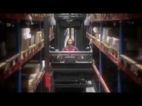 Linde Turret Trucks, man-up K Serisi Operatör seviyesi Yükselmeli,operatör kabini yükselebilen