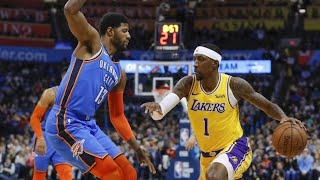 Lakers win by losing to the Thunder, Live recap w DTLF!!