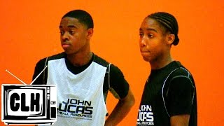 Damon Harge vs Jashaun Agosto - Point Guard BATTLE at John Lucas Camp