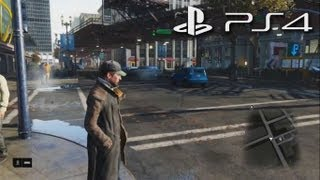 Playstation 4 - Watch Dogs (PS4) - Gameplay Walkthrough Commentary